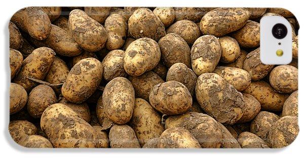 Potatoes IPhone 5c Case by Olivier Le Queinec