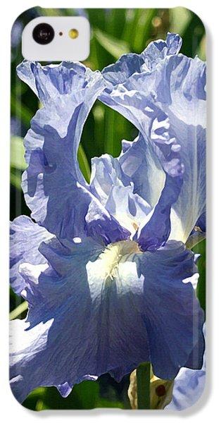 Purple Bearded Iris IPhone 5c Case by Ellen Henneke