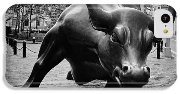 The Wall Street Bull IPhone 5c Case by Pixabay