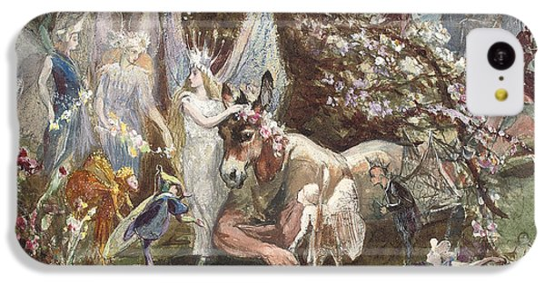 Titania And Bottom IPhone 5c Case by John Anster Fitzgerald