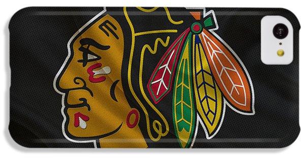 Chicago Blackhawks IPhone 5c Case by Joe Hamilton