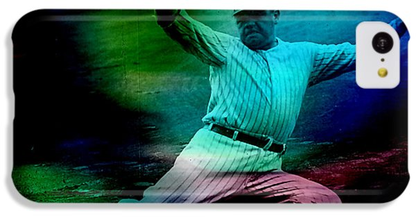 Babe Ruth IPhone 5c Case by Marvin Blaine
