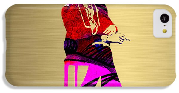 Bob Dylan Gold Series IPhone 5c Case by Marvin Blaine