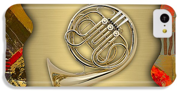 French Horn Collection IPhone 5c Case by Marvin Blaine
