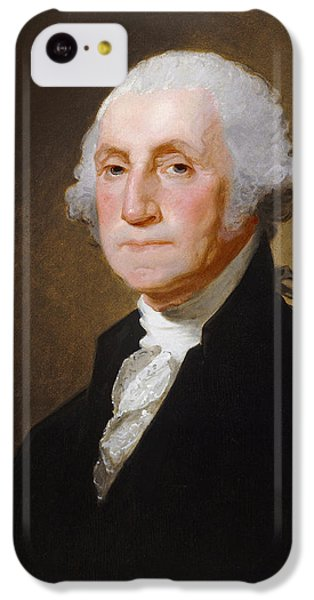 George Washington IPhone 5c Case by Gilbert Stuart