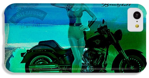 Harley Davidson Ad IPhone 5c Case by Marvin Blaine