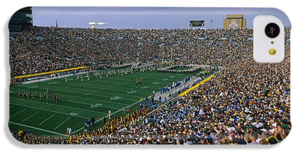 High Angle View Of A Football Stadium IPhone 5c Case by Panoramic Images