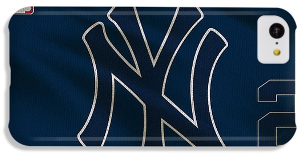 New York Yankees Derek Jeter IPhone 5c Case by Joe Hamilton