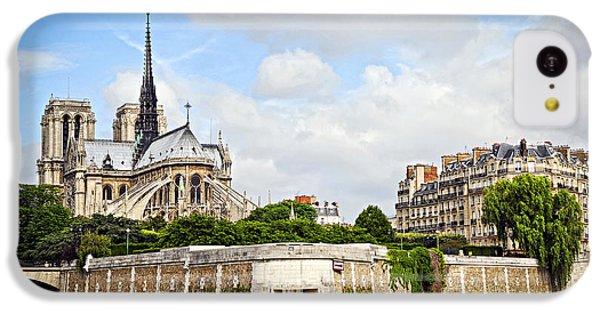 Notre Dame De Paris IPhone 5c Case by Elena Elisseeva