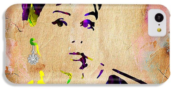 Audrey Hepburn Collection IPhone 5c Case by Marvin Blaine