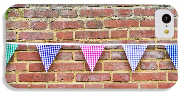 Bunting IPhone 5c Case by Tom Gowanlock
