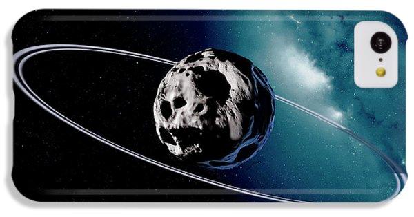 Chariklo Minor Planet And Rings IPhone 5c Case by Detlev Van Ravenswaay