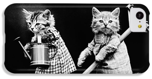 Frees Kittens, C1914 IPhone 5c Case by Granger
