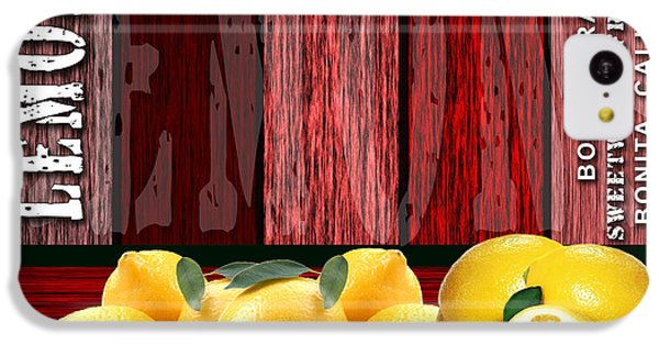 Lemon Farm IPhone 5c Case by Marvin Blaine