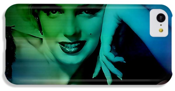 Marilyn Monroe IPhone 5c Case by Marvin Blaine