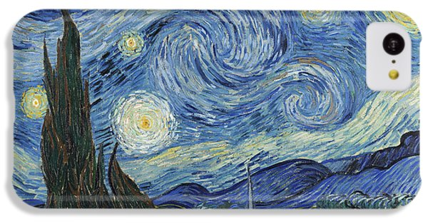 The Starry Night IPhone 5c Case by Vincent Van Gogh