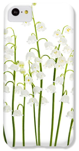 Lily-of-the-valley Flowers  IPhone 5c Case by Elena Elisseeva
