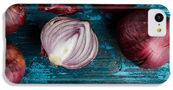 Red Onions IPhone 5c Case by Nailia Schwarz