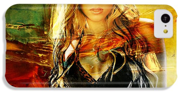 Shakira IPhone 5c Case by Marvin Blaine