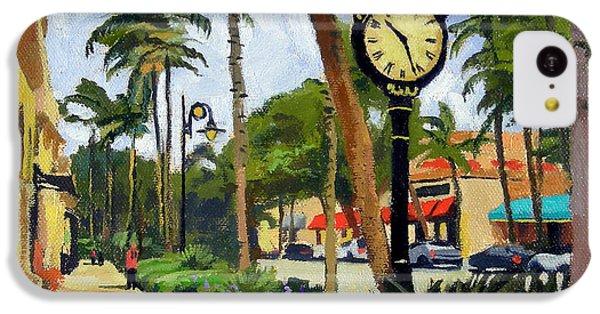 5th Avenue Naples Florida IPhone 5c Case by Christine Hopkins