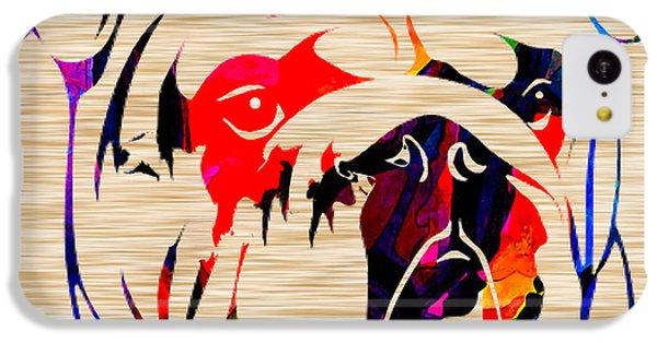 English Bulldog IPhone 5c Case by Marvin Blaine