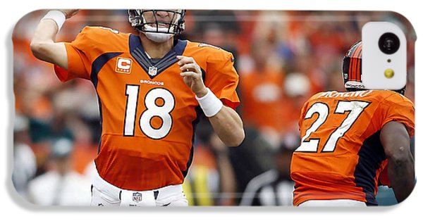 Peyton Manning  IPhone 5c Case by Marvin Blaine