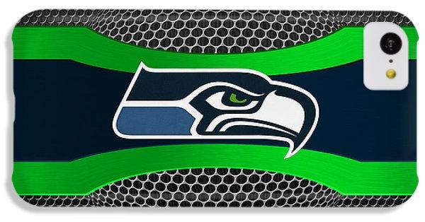 Seattle Seahawks IPhone 5c Case by Joe Hamilton