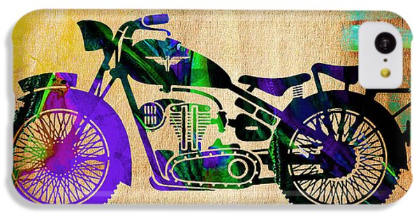Motorcycle IPhone 5c Case by Marvin Blaine