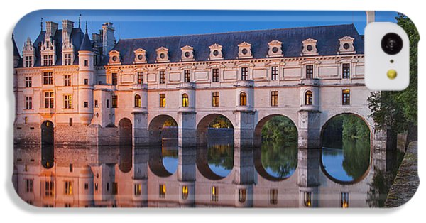 Chateau Chenonceau IPhone 5c Case by Brian Jannsen