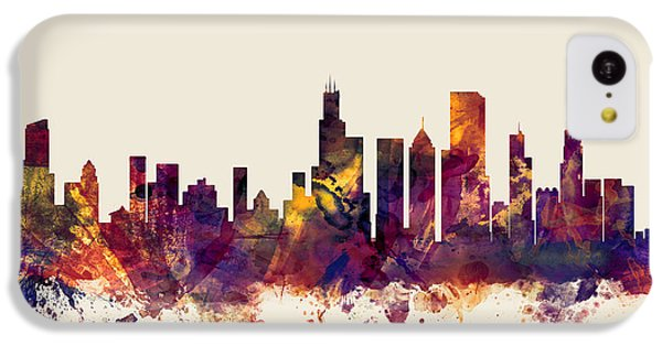 Chicago Illinois Skyline IPhone 5c Case by Michael Tompsett