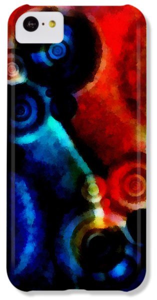 A Drop In The Puddle 1 IPhone 5c Case by Angelina Vick