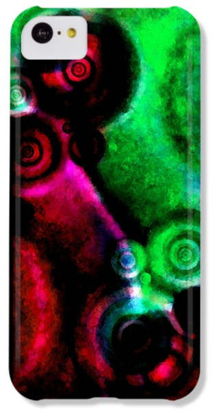 A Drop In The Puddle 3 IPhone 5c Case by Angelina Vick