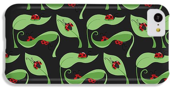 A Litte Bug IPhone 5c Case by Debra  Miller