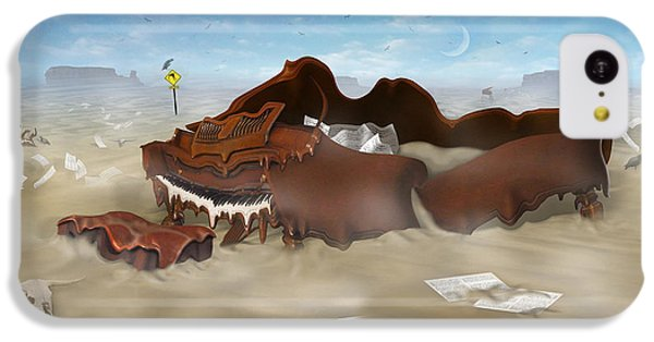 A Slow Death In Piano Valley - Panoramic IPhone 5c Case by Mike McGlothlen