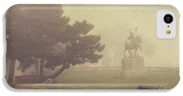 A Walk In The Fog IPhone 5c Case by Laurie Search