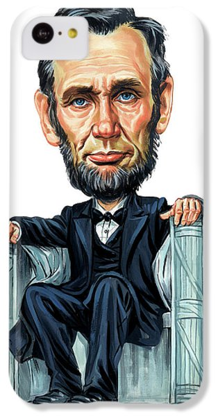 Abraham Lincoln IPhone 5c Case by Art