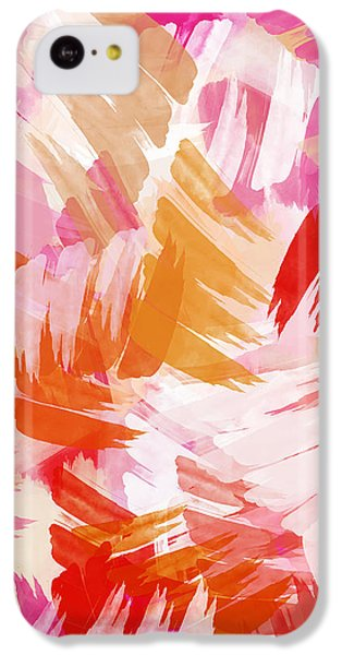 Abstract Paint Pattern IPhone 5c Case by Christina Rollo