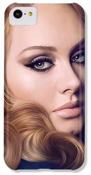 Adele Artwork  IPhone 5c Case by Sheraz A