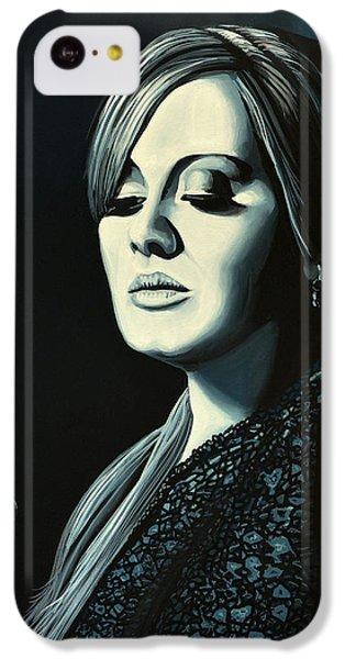 Adele Skyfall Painting IPhone 5c Case by Paul Meijering