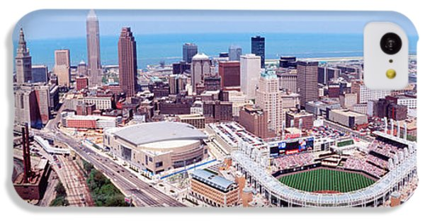 Aerial View Of Jacobs Field, Cleveland IPhone 5c Case by Panoramic Images