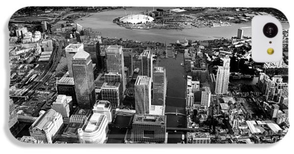 Aerial View Of London 5 IPhone 5c Case by Mark Rogan