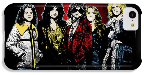 Aerosmith - 1970s Bad Boys IPhone 5c Case by Epic Rights