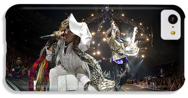 Aerosmith - On Stage 2012 IPhone 5c Case by Epic Rights