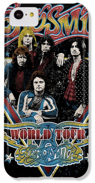 Aerosmith - World Tour 1977 IPhone 5c Case by Epic Rights