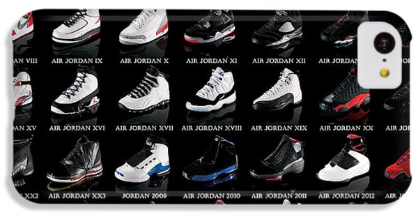 Air Jordan Shoe Gallery IPhone 5c Case by Brian Reaves