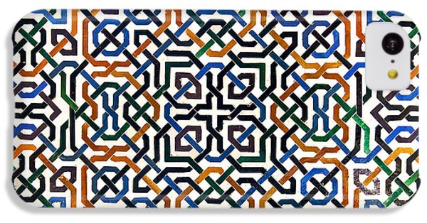 Alhambra Tile Detail IPhone 5c Case by Jane Rix