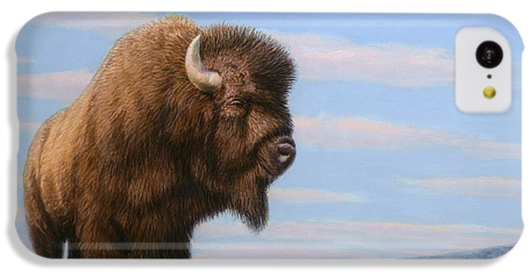American Bison IPhone 5c Case by James W Johnson