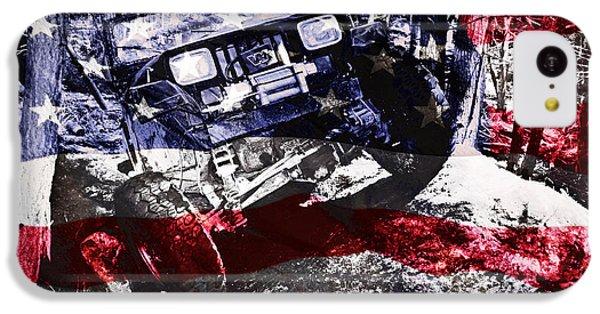 American Wrangler IPhone 5c Case by Luke Moore