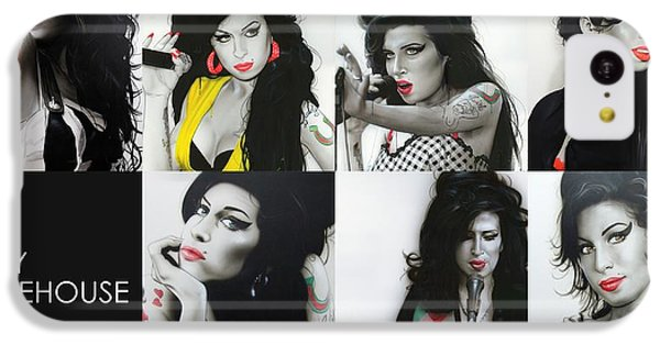 Amy Winehouse - 'amy Eternal' IPhone 5c Case by Christian Chapman Art