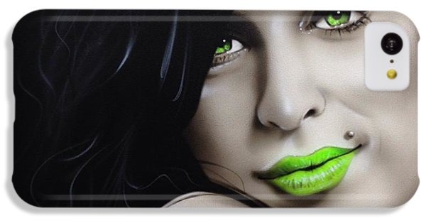 Amy Winehouse - 'amy Jade' IPhone 5c Case by Christian Chapman Art